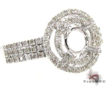 Ladies Semi Mount Ring 18976 Engagement