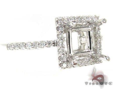 Ladies Semi Mount Ring 18977 Engagement