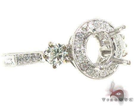 Ladies Semi Mount Ring 18981 Engagement