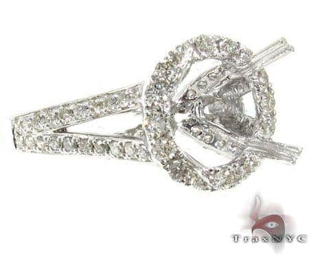 Ladies Semi Mount Ring 19001 Engagement