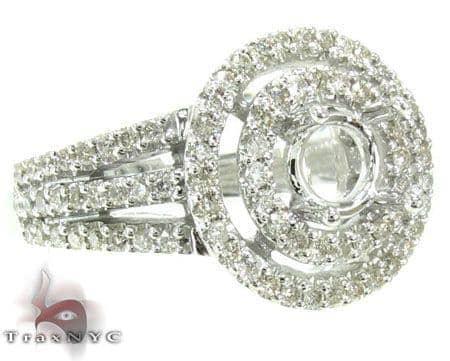 Ladies Semi Mount Ring 19008 Engagement