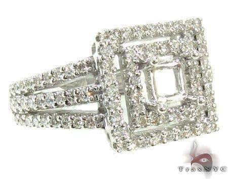 Ladies Semi Mount Ring 19010 Engagement
