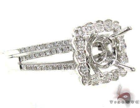 Ladies Semi Mount Ring Set 19012 Engagement