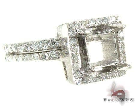 Ladies Semi Mount Ring Set 19014 Engagement