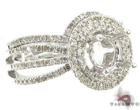 Ladies Semi Mount Ring Set 19015 Engagement