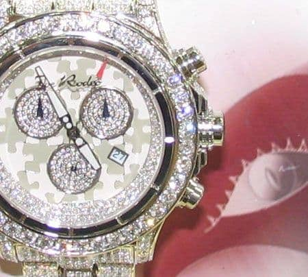 Joe Rodeo Masterpiece Hip Hop Diamond Watches