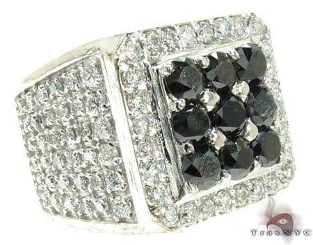 Black and White Diamond Premiere Ring Stone