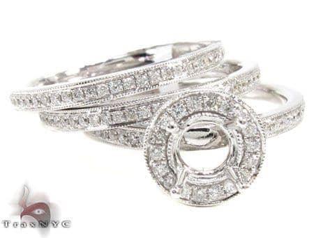 Ladies Semi Mount Ring 19043 Engagement