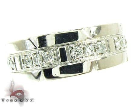 Mens Diamond Ring 19305 Stone