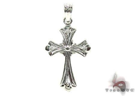 Silver Cross Crucifix 20225 Silver