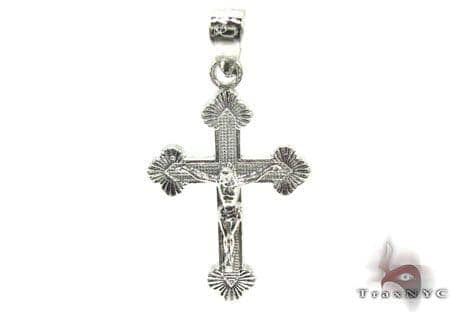 Silver Cross Crucifix 20230 Silver