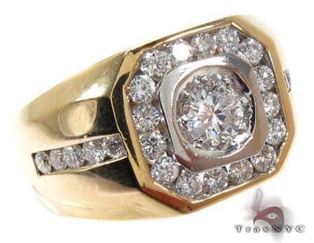 Mens Diamond Ring 20400 Stone