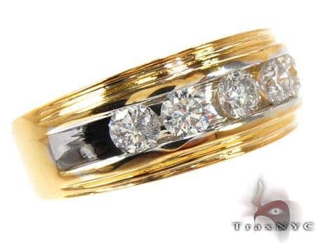 Two Tone Colossal Ring Style