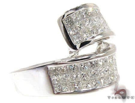 Ladies Invisible Diamond Ring 20800 Anniversary/Fashion