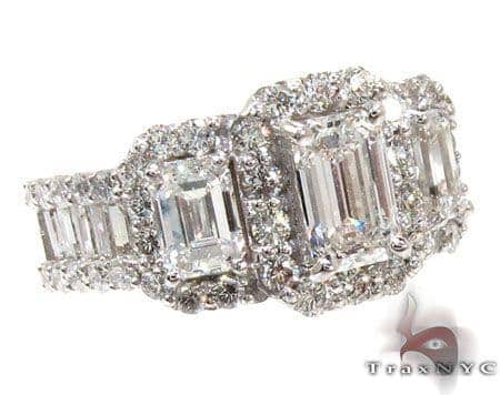 Ladies White Gold Diamond Ring 21040 Engagement