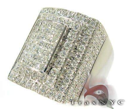 5 Row Prong Ring Stone
