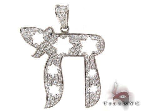 Ladies Prong Diamond Pendant 21271 Stone