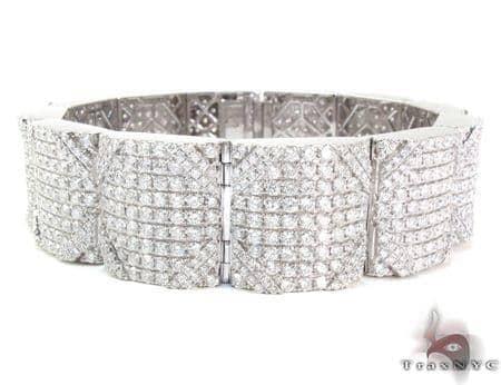 Mens Prong Diamond Bracelet 21371 Diamond