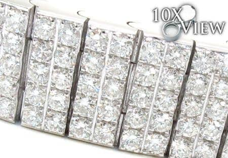 Mens Prong Diamond Bracelet 21379 Diamond