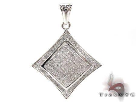 Ladies Diamond  Pendant 21492 Stone