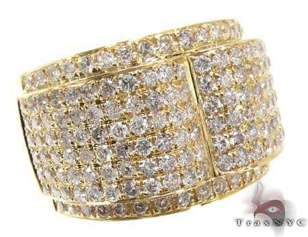 Mens Diamond Pinky Ring 21506 Stone