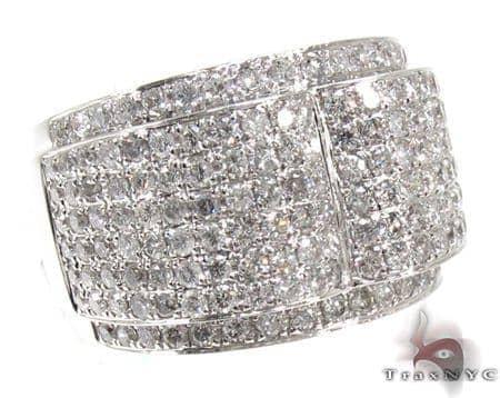 Mens Diamond Pinky Ring 21507 Stone