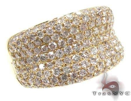 Unisex Pave Diamond Ring 21508 Stone