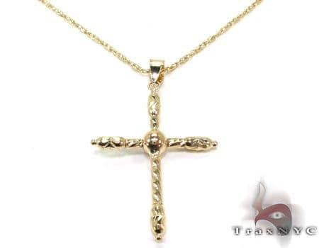 Ladies Cross Crucifix Pendant 21547 Style