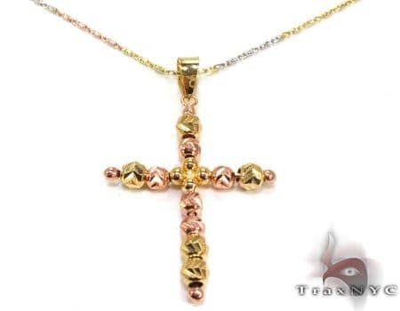 Ladies Cross Crucifix Pendant 21559 Style