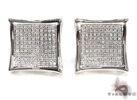 Mens Diamond Earrings 21655 Stone