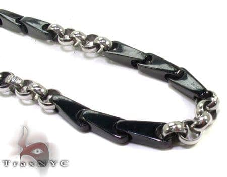 Mens Stainless Steel n 24 Inches 6mm 63.9 Grams Stainless Steel