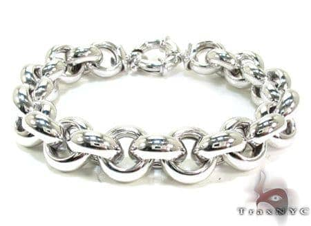 Unisex Silver Bracelet 21831 Silver