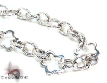 Ladies Silver Chain 18 Inches 14mm 31.4 Grams Silver