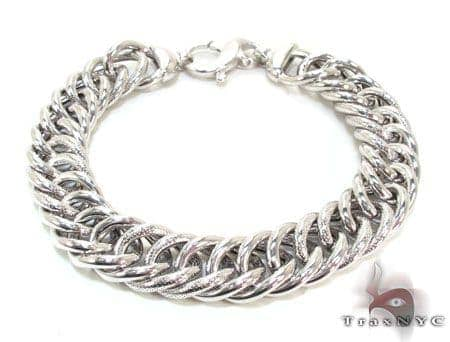 Ladies Silver Bracelet 21848 Silver & Stainless Steel