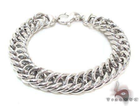 Ladies Silver Bracelet 21848 Silver & Stainless Steel