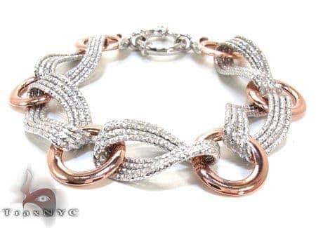 Ladies Silver Bracelet 21872 Silver & Stainless Steel