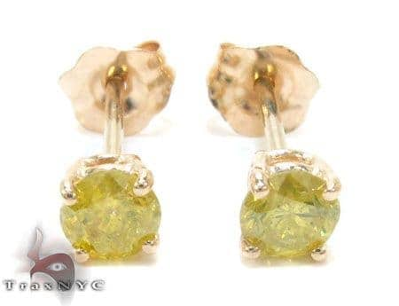 Ladies Diamond Stud Earrings 22167 Stone