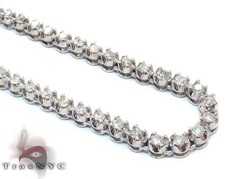 Mini Polar Ice Chain 36 Inches 4mm 57.1 Grams 23919 Diamond