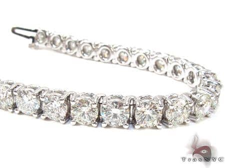 Ladies Diamond Tennis Bracelet Tennis