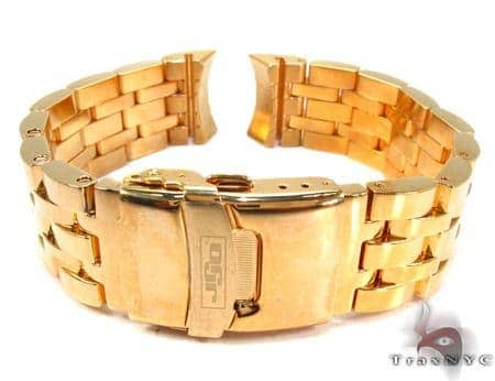 Jojo Yellow Stainless Steel Band 20mm Watch Accessories