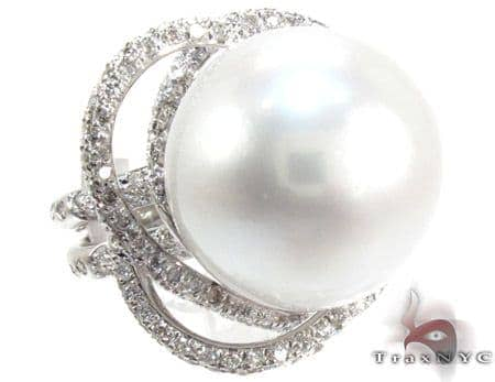 Flowering Pearl Ring Anniversary/Fashion