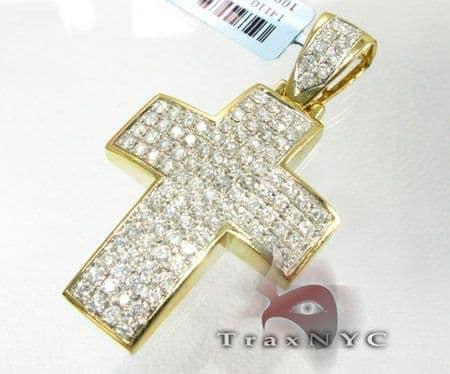 Mini Pave Premier Cross Diamond