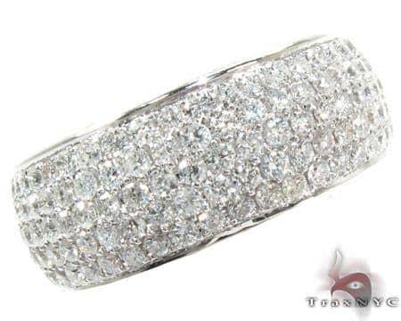 14K Gold Fully Diamond Ring 25584 Stone