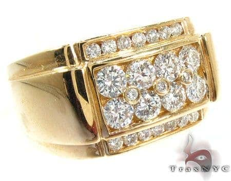 14K Gold Diamond Ring 25608 Stone