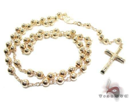 Rosary Silver Chain 26 Inches, 5mm, 36 Grams Silver