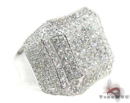 Ice Octagon Diamond Ring Stone