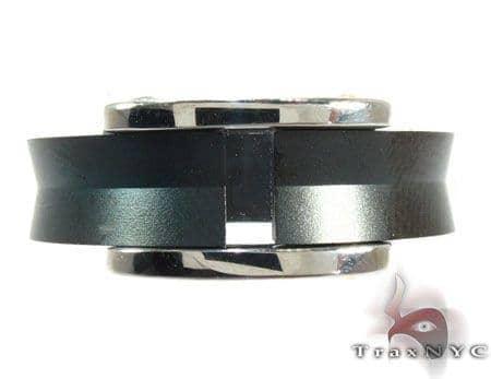 Baraka BK-UP Black Stainless Steel Unisex Ring AN50108 Metal