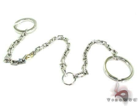 Baraka BK-UP Stainless Steel Key Chain PO50136 Metal