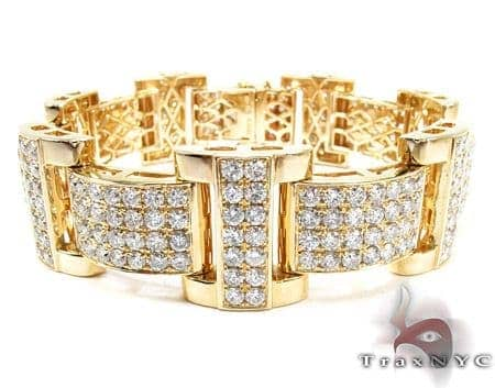 Jupiter Diamond with Yellow Gold Bracelet Diamond
