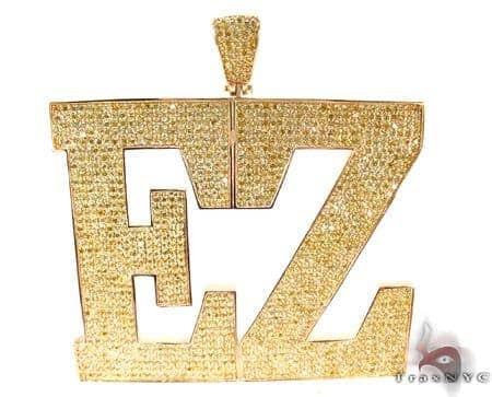Custom Jewelry - Colossal EZ Silver Pendant Metal